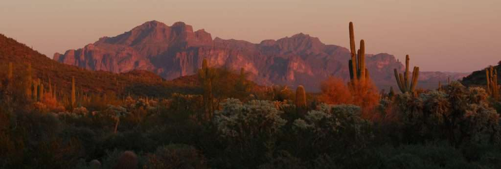 Oasis Junction nearby attractions - Superstition Mountain Range