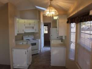 Park Model Rental Home Kitchen