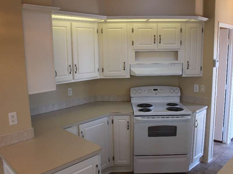 Park Model Mobile Home Kitchen