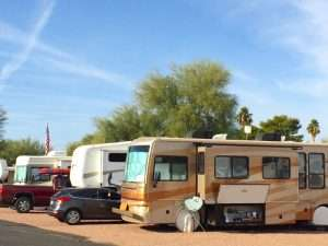 5th Wheel Space Rentals in Apache Junction, AZ